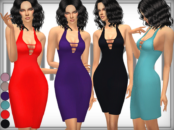 Ribbed Bodycon Dress by DarkNighTt
