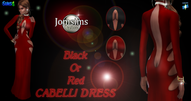Cabelli Dress by JomSims