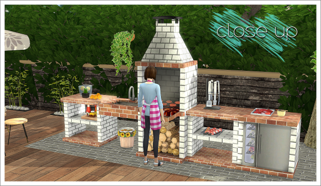 TS2 BBQ Outdoor Kitchen Set Conversion by Daer0n