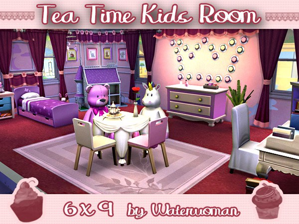 Tea Time Kids Room by Waterwoman