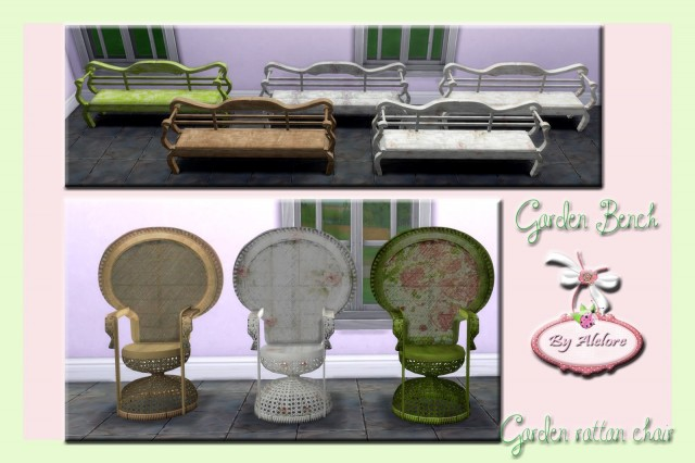 TS3 Dream Garden Conversions by Alelore