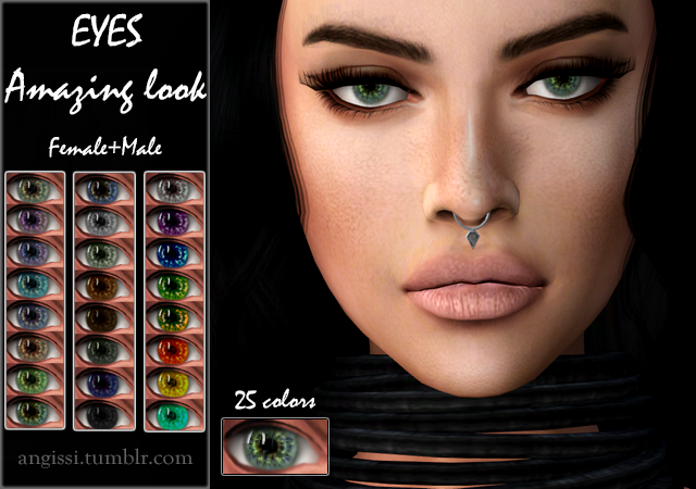 EYES 05 Amazing look by ANGISSI