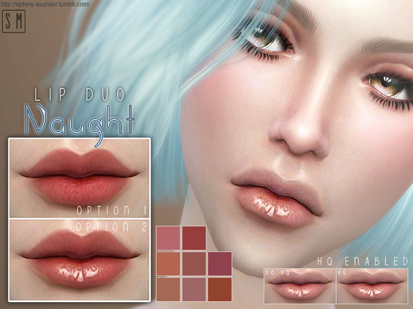 [ Naught ] - Duo Lip Colour by Screaming Mustard