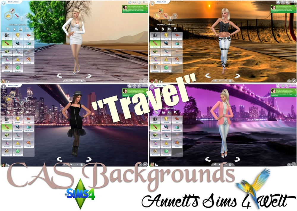 Travel CAS Backgrounds by Annett85