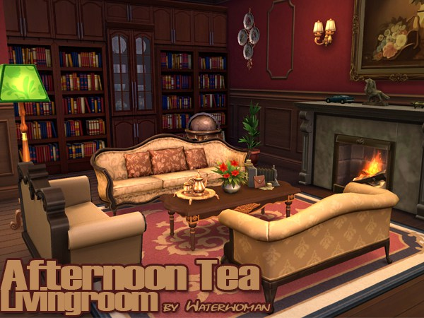 Afternoon Tea Wohnzimmer by Waterwoman