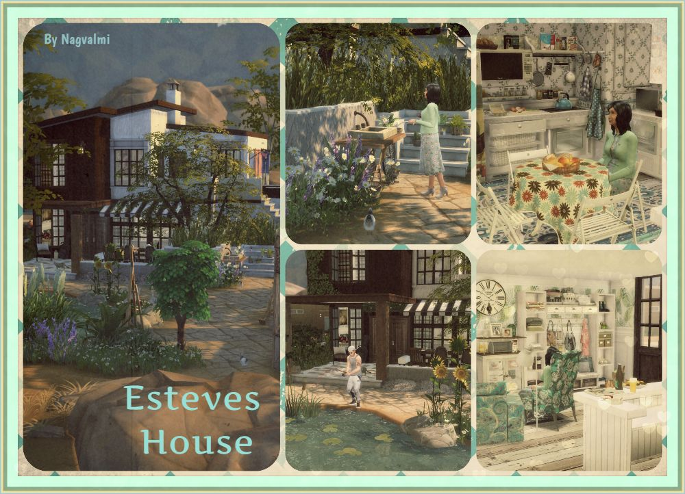 Esteves House by Nagvalmi