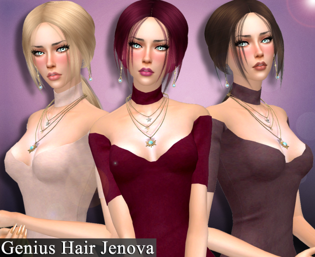 Genius Hair Jenova by Genius666
