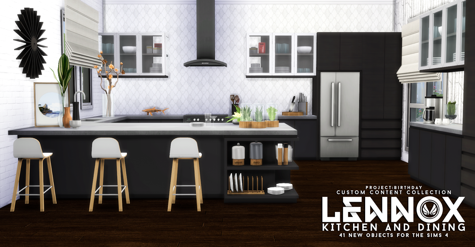 Updated - Lennox Kitchen And Dining Set by Peacemaker ic