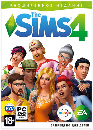 The Sims 4: Deluxe Edition / PC Лицензия