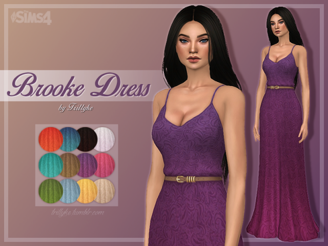 Brooke Dress by trillyke