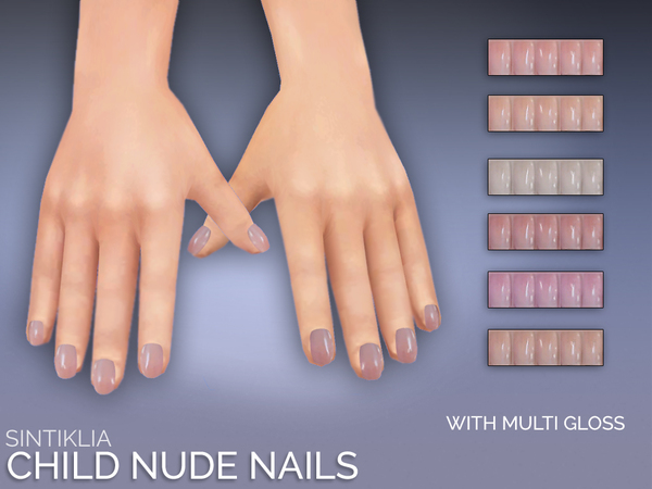 Sintiklia - Natural child nails