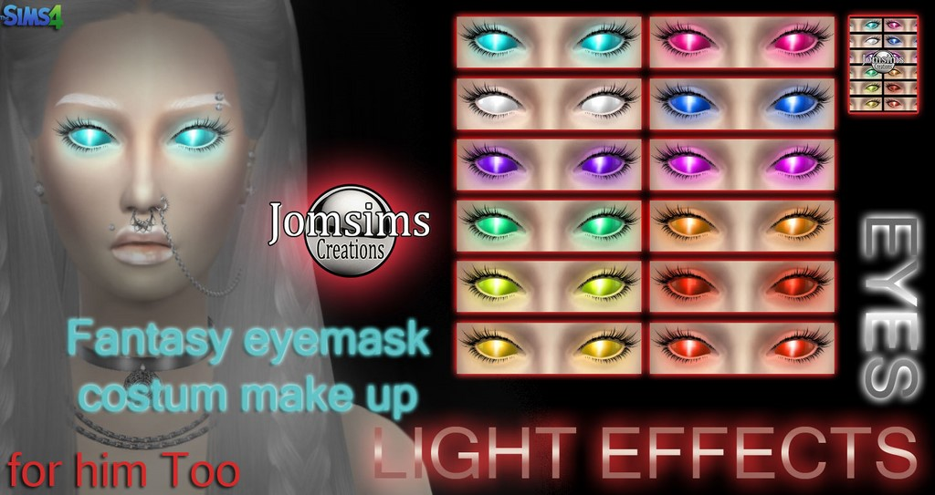 Fantasy Eyes by JomSims