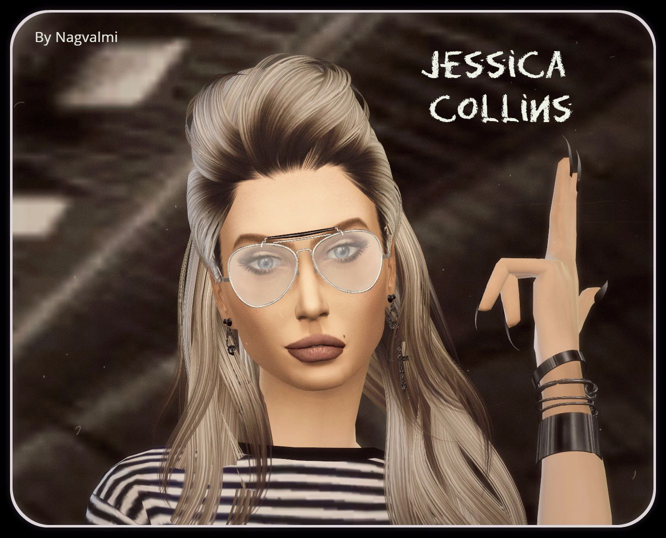 Jessica Collins by Nagvalmi