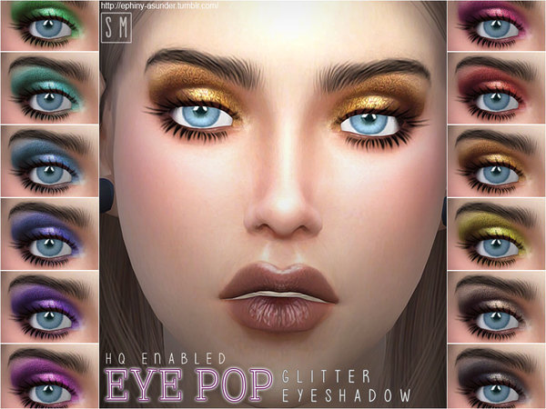 [ Eye Pop ] - Glitter Eye Shadow by Screaming Mustard