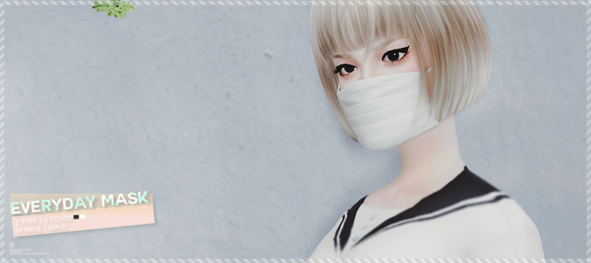 Surgical Mask by BlackLe