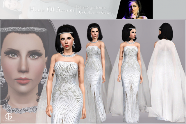Street Style: Toronto_JS Collection Gown by ArtSims
