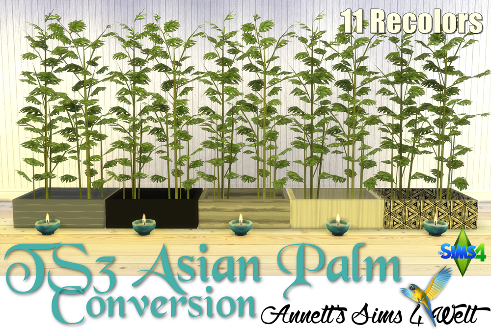 TS3 Asian Palm Conversion by Annett