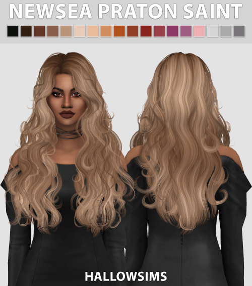 Patron Saint Hair by HallowSims