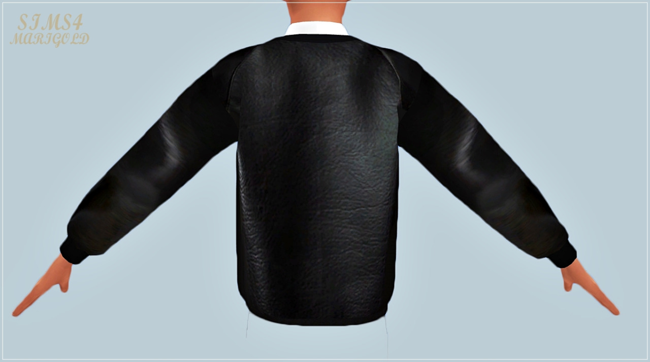 male_Neoprene sweat shirt by Marigold