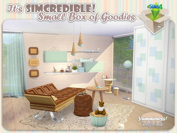 Yumminess box of goodies + full set by SIMcredible