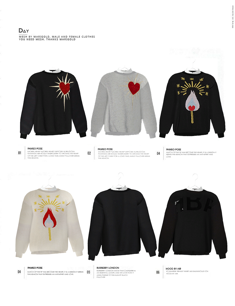 DAY sweat shirt by BlackLe
