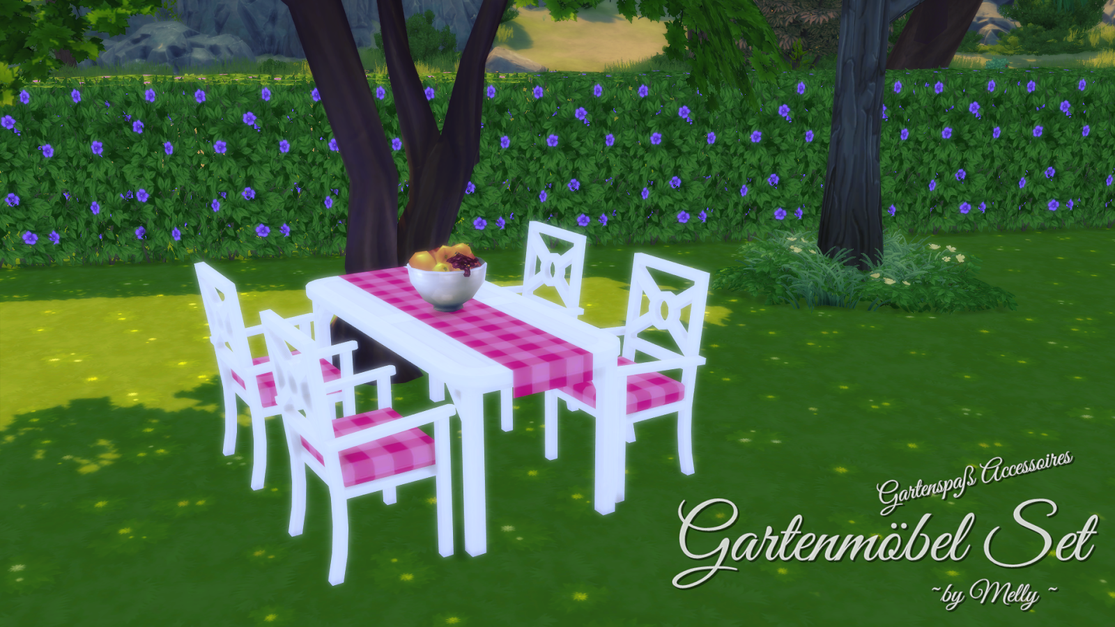Garden Dining Set by Melly