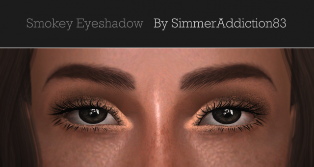 Smokey Eyeshadow by SimmerAddiction83