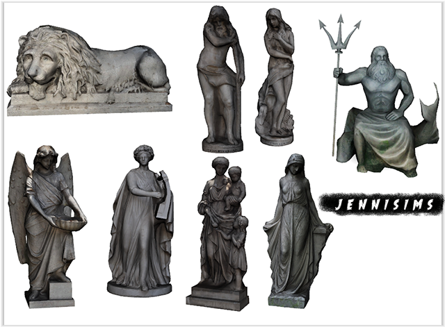 Statues by JenniSims