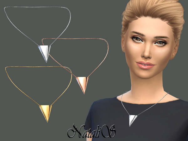 NataliS_Inverted Triangle Necklace