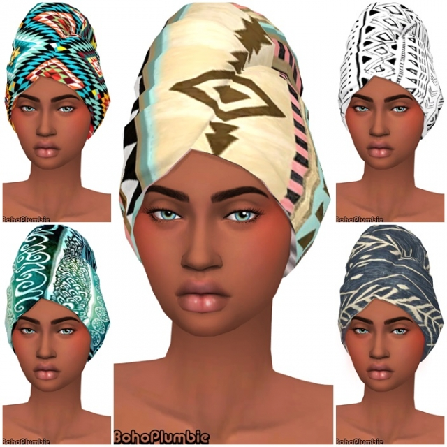 Head Wraps by Bohoplumbie