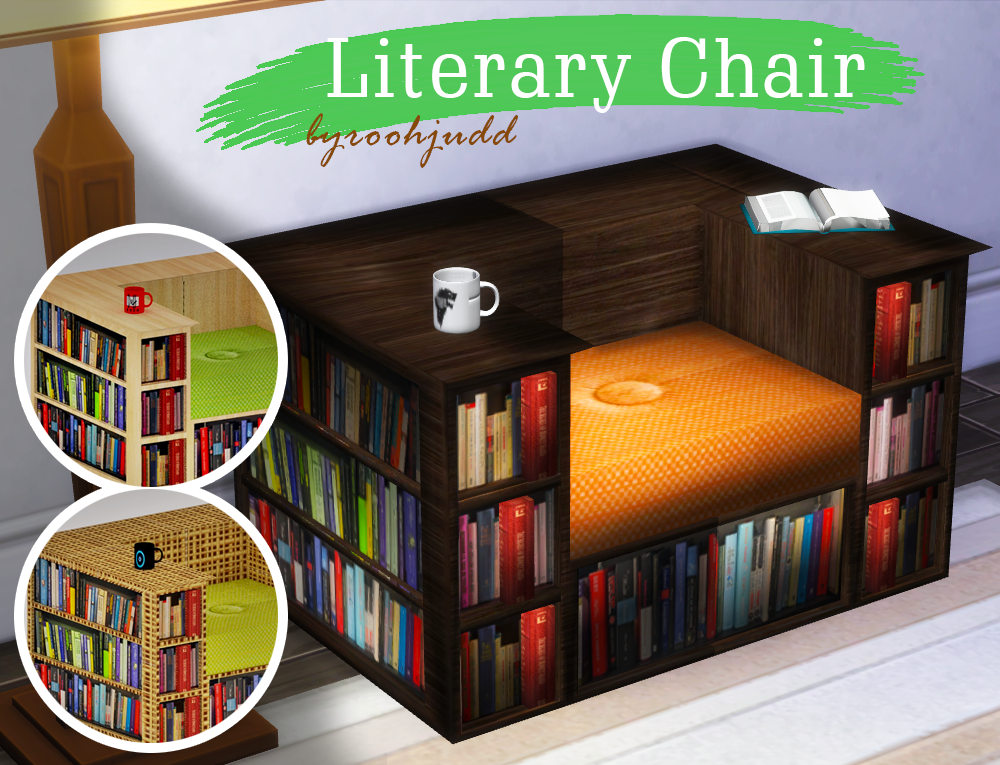 Literary Chair by TSCCCreator