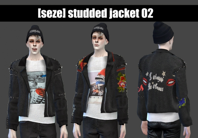 Studded Jacket 02 by Seze