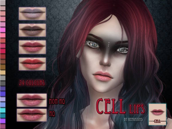 Cell Lips by RemusSirion