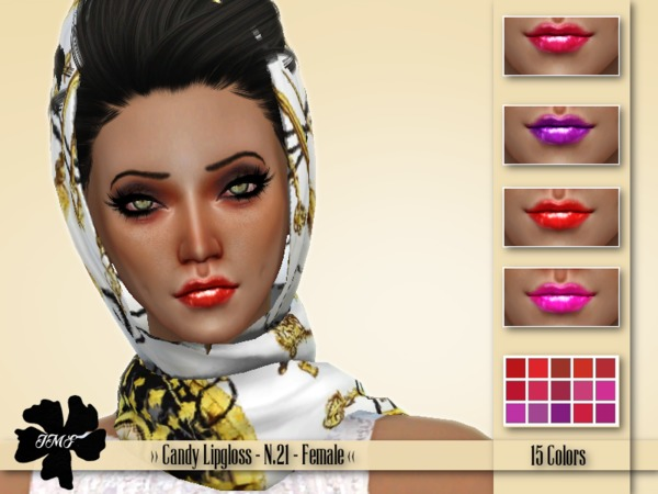 IMF Candy Lipgloss N.21 by IzzieMcFire