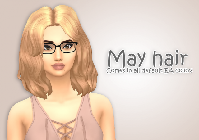 May Hair by IvoSims