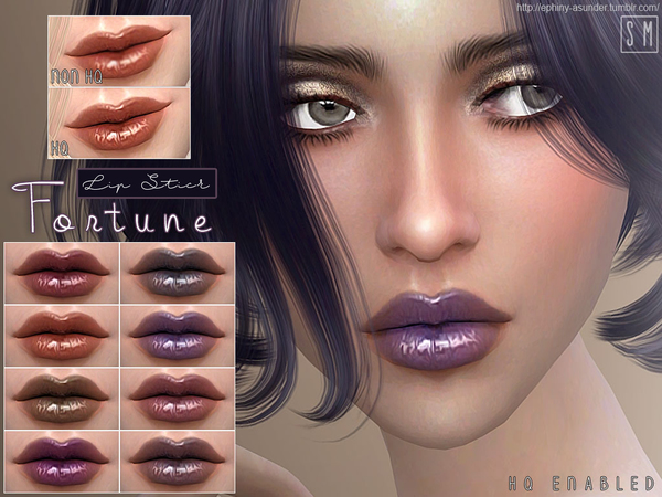 [ Fortune ] - Metallic Lip Gloss by Screaming Mustard