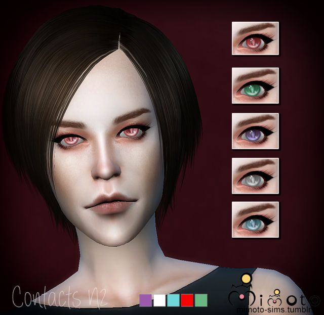 Contact Lenses N2 by Mimoto
