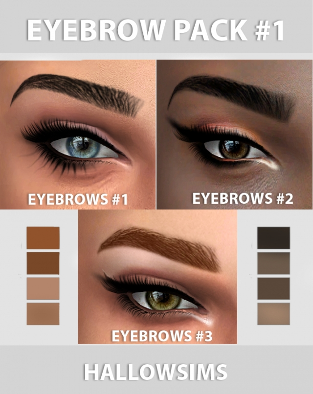 Eyebrows by HallowSims