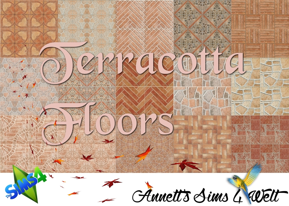 Terracotta Floors by Annett85