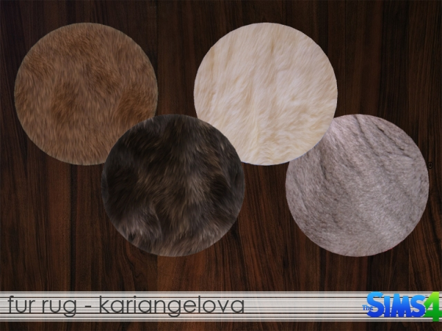 Fur Rug by KariAngelova