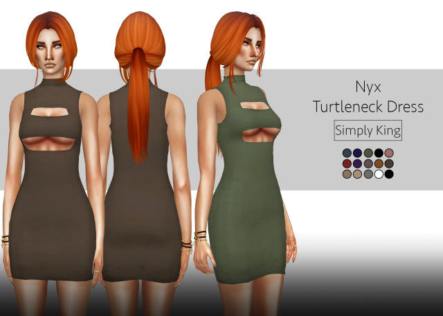 Nyx Turtleneck Dress by Simply King