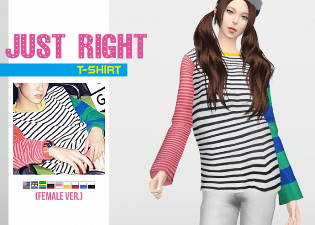 Just Right T-Shirt by Waekey by Waekey