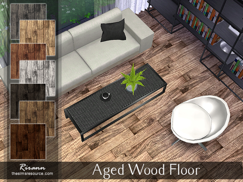 Aged Wood Floor by Rirann