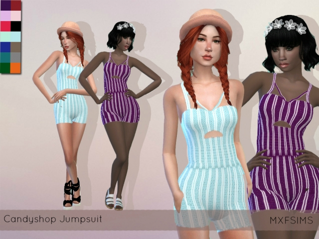Candy Shop Jumpsuit by mxfsims
