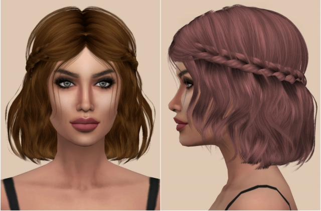 Leah Lillith (Hair Retexture) by Kenzar
