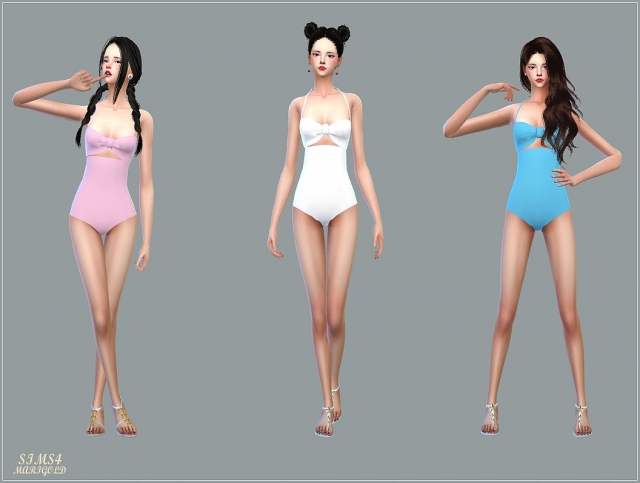 Bow Swimsuit by Marigold