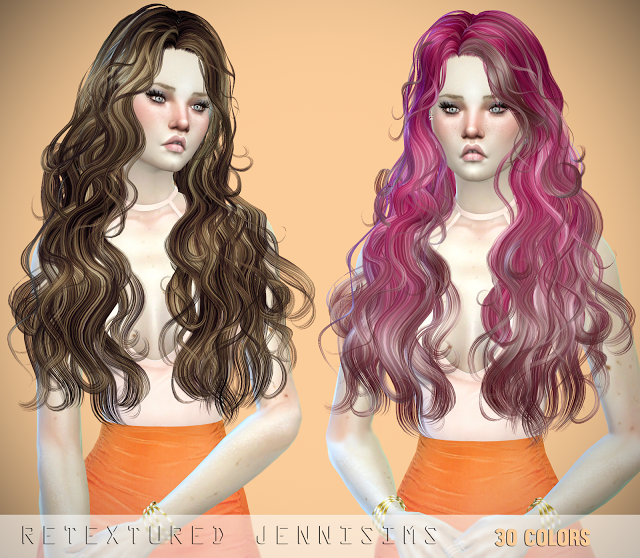 Millet and Patron Saint Hair Retexture by JenniSims