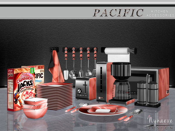 NynaeveDesign's Pacific Heights Kitchen Accessories