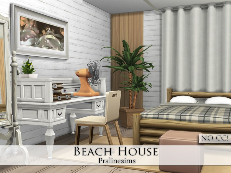 Beach House by Pralinesims