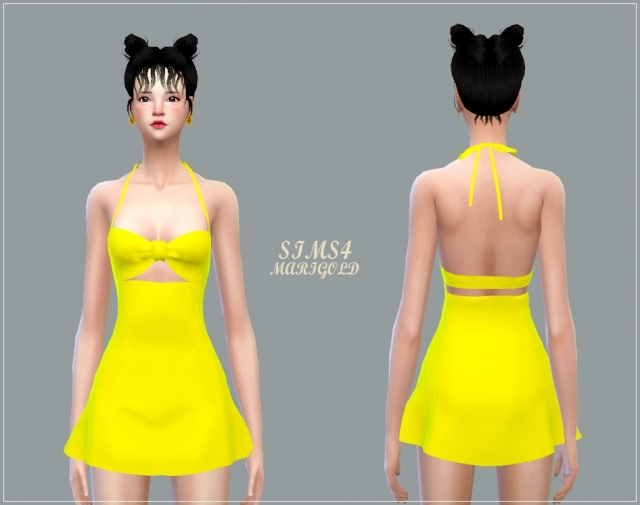 Bow Swim Dress by marigold